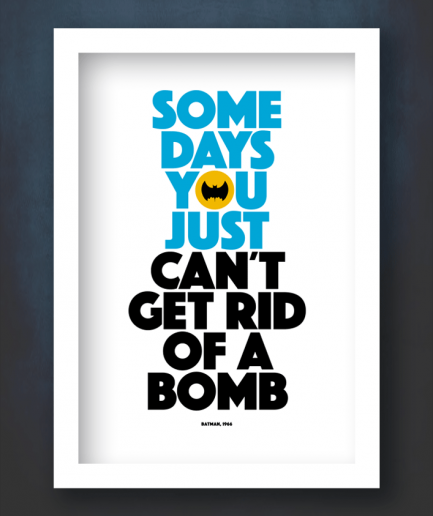 Some days you just cant get rid if a bomb