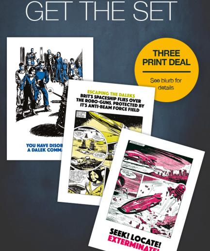 Dr Who Daleks 3 print deal