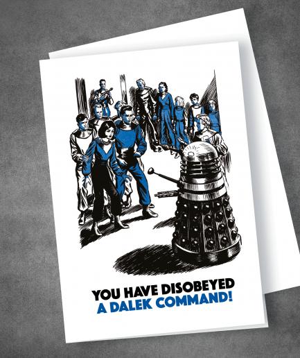 Dalek Command card
