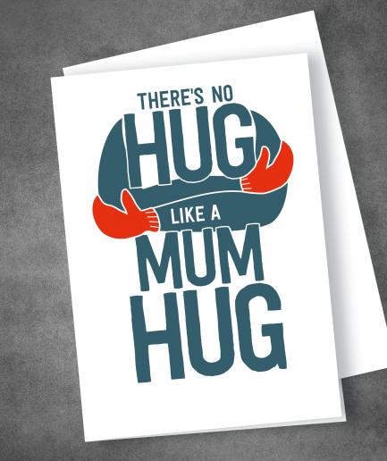 Mum Hug Mothers day card
