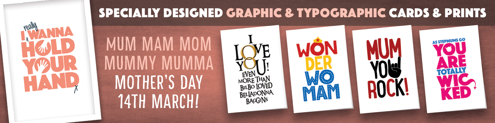 Mothers day cards header